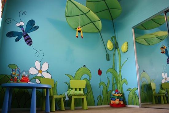 Зеленая комната - уютное местечко для юного энтомолога