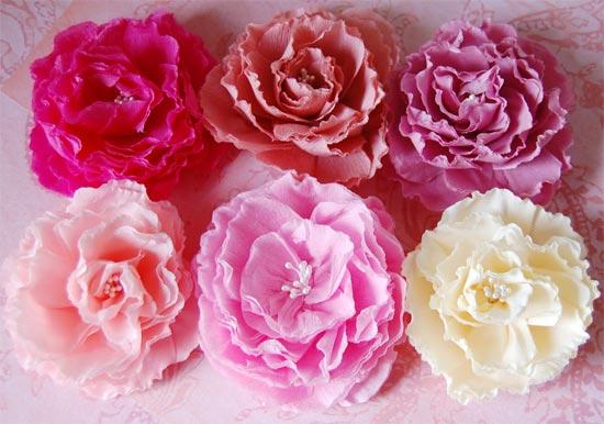 Цветок из гофрированной бумаги своими руками просто