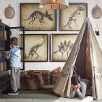 Комната для дошкольника с игровой палаткой