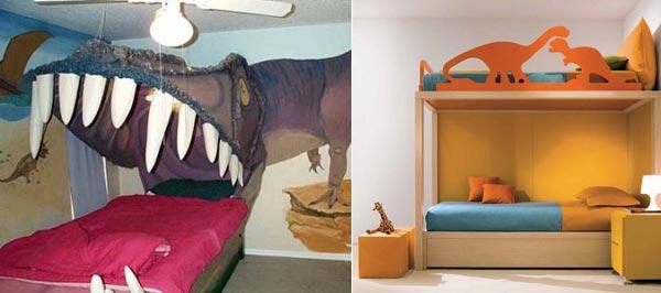 Мебель с динозаврами