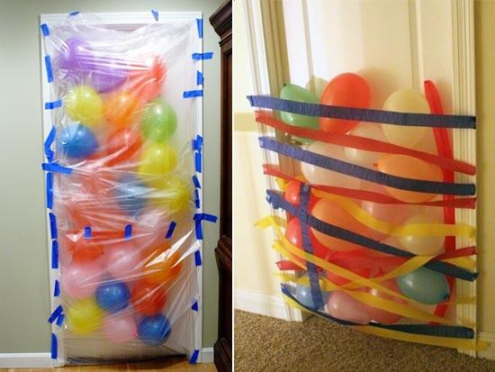 Сюрприз из воздушных шаров