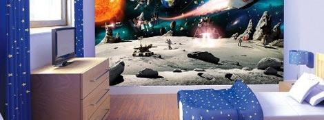 «Космическая» детская для мальчика: Новое на сайте