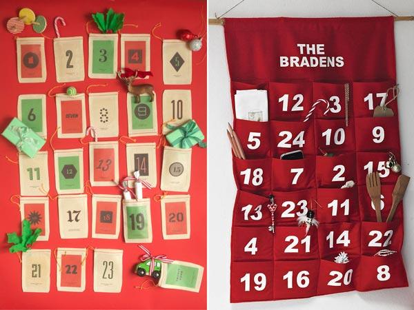 Красные адвент-календари