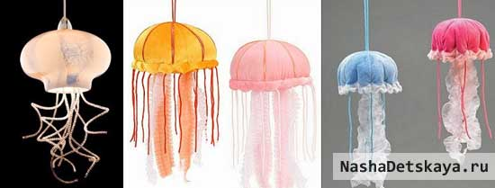 Необычные подвесные светильники для морской тематики