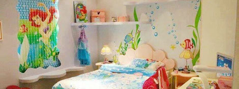 Русалки: комната для девочки: Читать далее