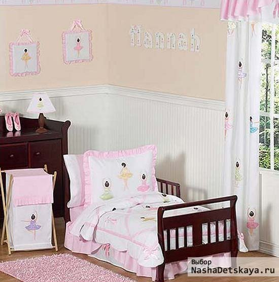 Комната для малышки постарше