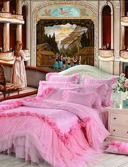 Красиво оформленное спальное место
