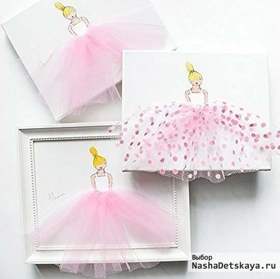 Картины с балеринами для оформления комнаты